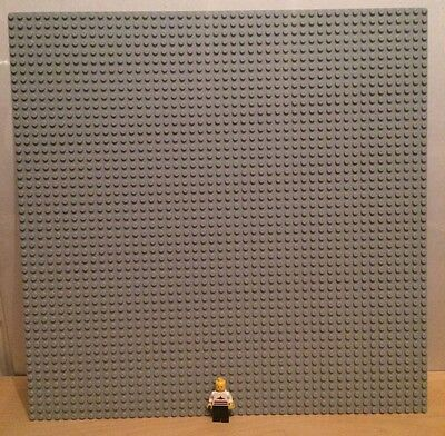 Extra Large Lego Grey Base Board Baseplate 48 x 48 Dots XL 15''x15''
