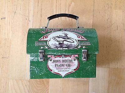 John Deere Plow Co Lunch Box 1904 Farmers Companion Vintage