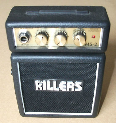 THE KILLERS Marshall MS-2 promo only micro amplifier NEW