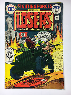 Our Fighting Forces #148 F 1974 DC comic The Losers