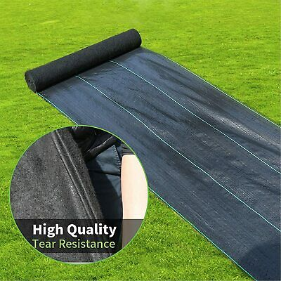 Agfabric WB15-4x50ft Weed Barrier Fabric for Garden and Landscape Fabric