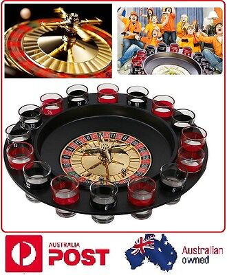 L Spin The Shot Drinking Game Roulette Glass Spinner For Home Party Universal