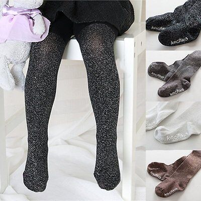 New Baby Toddler Kids Girls Warm Cotton Pantyhose Socks Stockings Tights 0-10Y