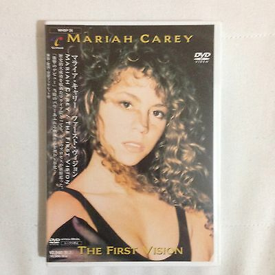Mariah Carey The First Vision DVD Rare Promo for Debut Album 1990 New 1991 Japan