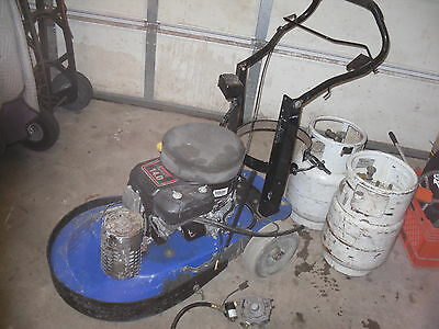 Alto kawasaki 14.0  N1ABCS  LP propane  floor buffer polisher burnisher project