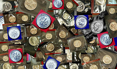 1968 to 2015 P+D Roosevelt Dime Set ~ 1996 W 1982 PD & 1983PD All in Mint Cello
