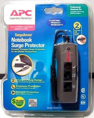 Brand New APC SurgeArrest Notebook Surge Protector Model PNoteProC8 Free Ship