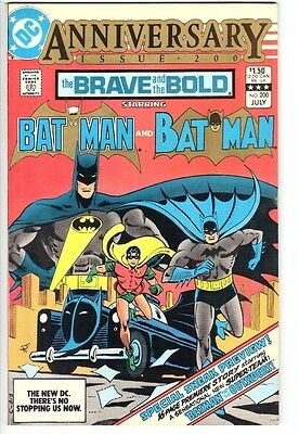 Brave and The Bold #200 (1983)  NM/NM+ 9.4/9.6  1st Katana  1st Outsiders