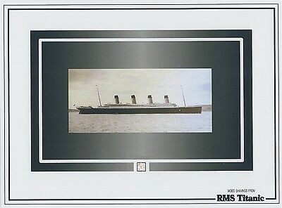 RMS TITANIC tiny WOOD shaving specks 1912 White Star Line historic, pieces part
