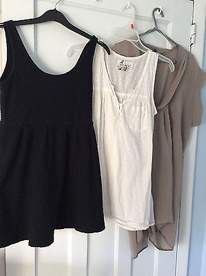3 x Maternity Top Tops Bundle Size 10 Clothes Forever 21