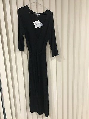 Catriona Rowntree Ladies Maternity Wrap Dress New With Tags Sz 16