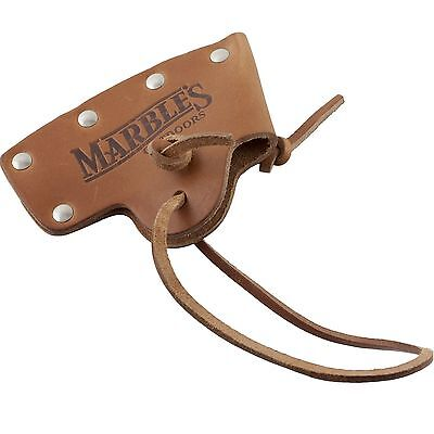 Marbles No. 10 Axe Brown Leather Axe Hatchet Blade Cover Sheath