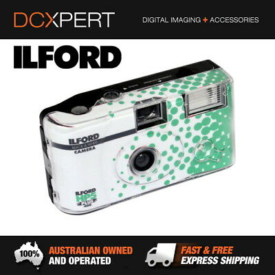 ILFORD HP5 Plus Single Use Camera with Flash 27 - 2 PACK