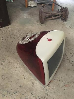 Retro /vintage Red Apple Imac/ Television  Prop  Rare Collectable  Buy Now  Rare