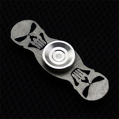 Cool EDC Hand Spinner Finger Gyro Finger Fidget Spinner Focus Toy Titanium Alloy