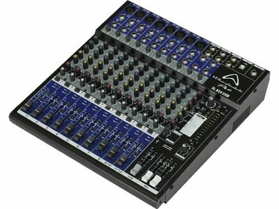 Wharfdale SL824 8-Channel USB Mixing Desk