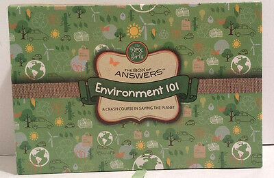 The Box of Answers Environment 101 Crash Course in Saving the Planet Flash Cards