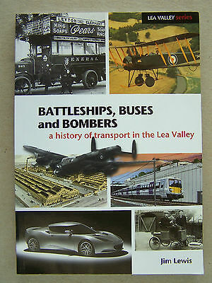 """""""BATTLESHIPS, BUSES and BOMBERS."""" TRANSPORT HISTORY BOOK."""