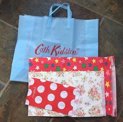 Cath Kidston - Present wrapping kit - Bag + 3 Patterned Gift Bags! NEW!!