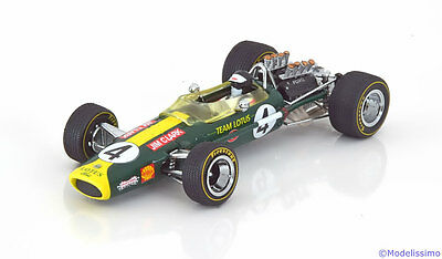 1:43 Quartzo Lotus 49 Winner GP South Africa Clark 1968
