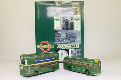 EFE 99909; London Transport Museum Set 2; Country Buses, Excellent+ Boxed