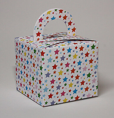 24 Single Cupcake / Favour  Boxes  STARS