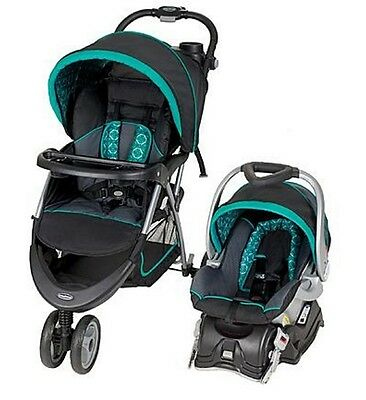Car Seat Stroller Combo Infant Travel System Newborn Baby Bebe Boy Girl Carriage