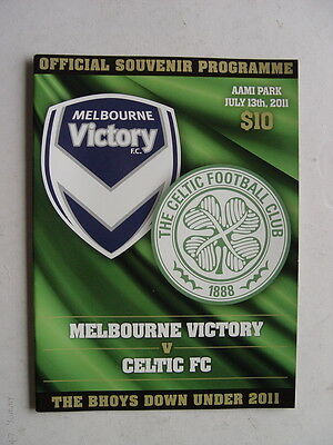2011 Celtic Tour of Australia - 3 Programmes