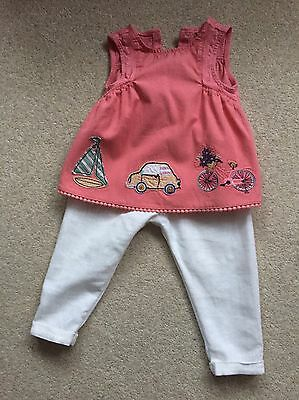 Gorgeous Next Baby Girl Outfit 9-12 Months