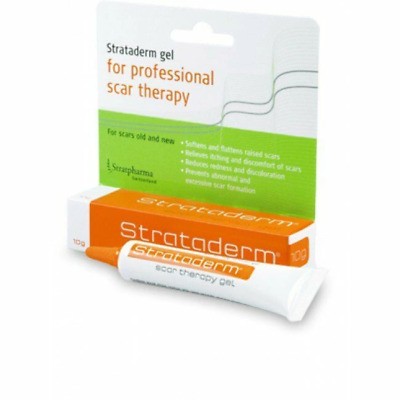 Strataderm - Scar Therapy Gel - 10g - For Scars Old & New - Reduce Scaring