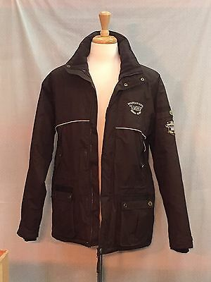 Ladies Mountain Horse Riding Jacket. Brown. Size Large - LUD