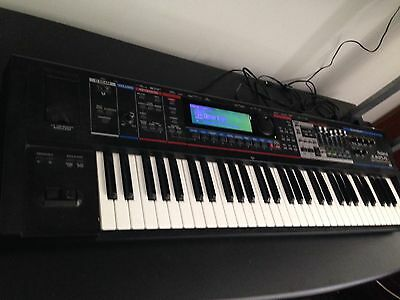 Roland Juno Gi Synth With Multi Track Recorder