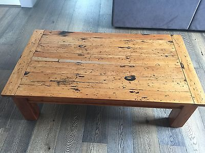 Solid NZ wood coffee table