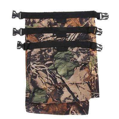 3pcs Waterproof Canoe/Floating/Boating/Kayaking/Camping Camo Dry Bag Sack Pouch