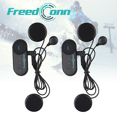 800m BT interphone Bluetooth casco de moto intercomunicador intercom headset+FM