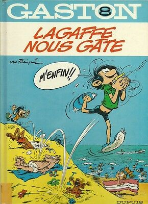 Bd Album Gaston N° 8 Lagaffe Nous Gate
