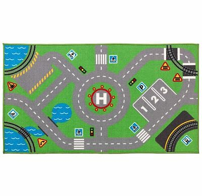 IKEA STORABO children's play rug kids mat for trains and cars