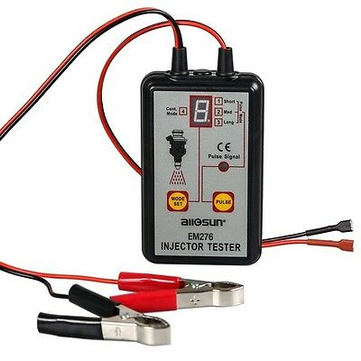 All-Sun EM276 Injector Tester 4 Pluse Modes Powerful Fuel System Scan Tool Pro