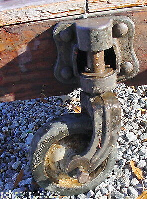 Warehouse Cart Industrial Steam Punk Heavy Salvage Great Antique Old Equipment