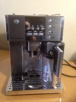 Delonghi PrimaDonna ESAM6620 15-Bar Fully Automatic Bean-to-Cup Maker RRP:£1000