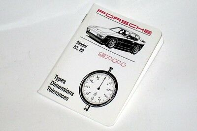 Porsche 944 2.5 Technical Specification Data Book. A Pocket Workshop Manual
