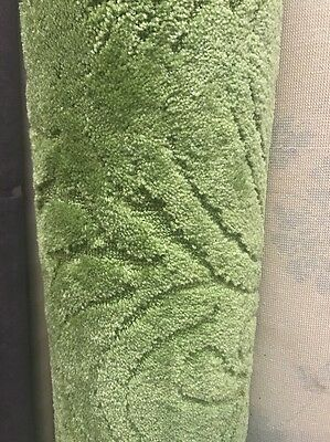 Retro Lime Green Carpet Roll End