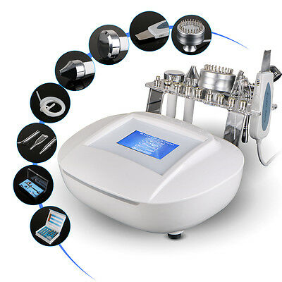 6 in1 Ultrasonic Pore Clean Skin Scrubber Spray Microdermabrasion Beauty Machine