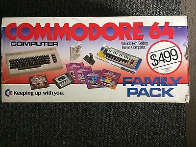 Commodore 64 family Pack in very good condition, different joystick included