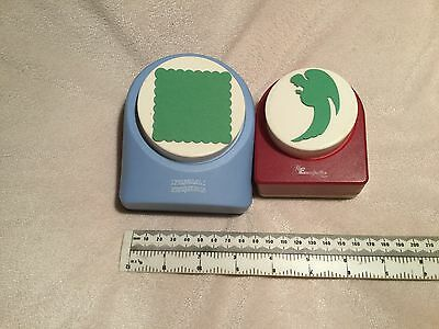 Very Large Square Paper Punch. Excellent Condition.RARE & UNUSUAL! HARD 2 FIND!!