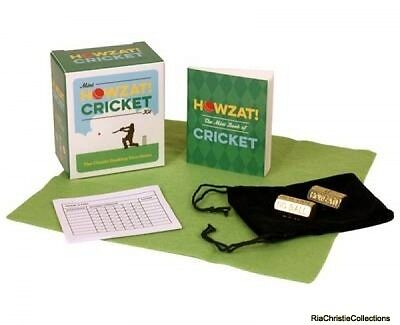 Mini Howzat Cricket Kit Running Press Paperback New Book Free UK Delivery