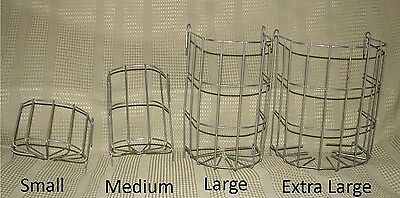 Wire Hay Rack Feeder Small Animal Rabbit Various Sizes Small Med Large X Large