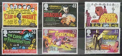 2009 Carry On Hammer Films Unmounted Mint Stamp Set Mnh