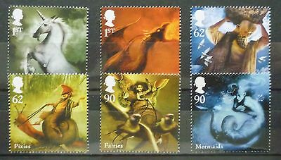 2009 Mythical Creatures Unmounted Mint Stamp Set Mnh