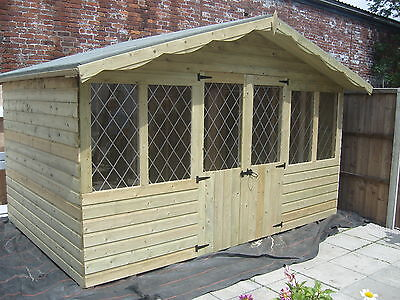 summer house 12 x 8        **19mm T&G**